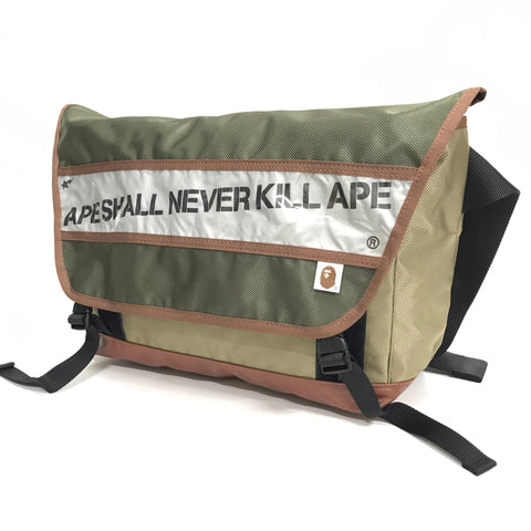 A Bathing Ape Bape ASNKA Messenger Bag
