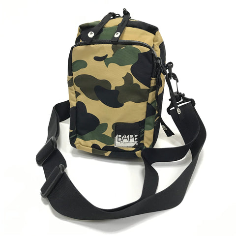 A Bathing Ape Bape 1st Camo Shoulder Pouch