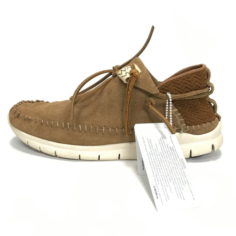 [11] Visvim 17AW Ute Moc Folk Shoes Brown