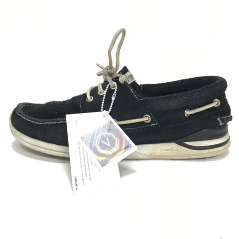 [10] Visvim Hockney Folk Suede Black