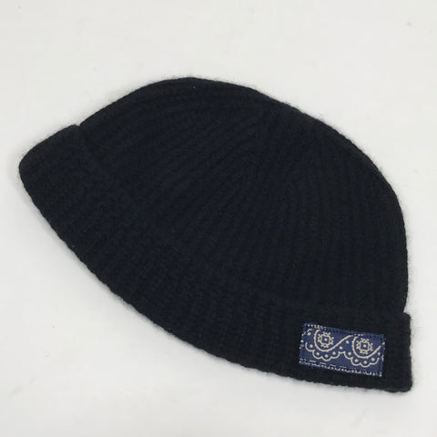Visvim ICT 18AW Wool Knit Beanie Navy