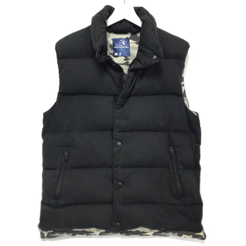 [XL] Futura Laboratories Down Vest Black