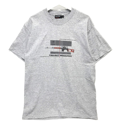 [L] Project Dragon (Futura Stash) Vintage Tee Grey