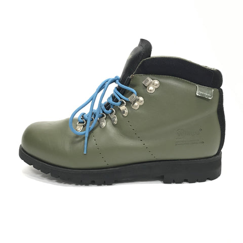 [L] WTaps Vintage 01SS AT-01 Leather Boots Olive