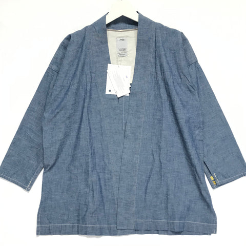 [M] DS! VISVIM Noragi Chambray Shirt Blue