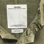 [XL] Visvim 14SS Lugli Jacket Damaged Chino Olive