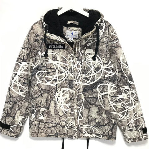 [M] NITRAID X FUTURA REAL STONE CAMO HOODED JACKET