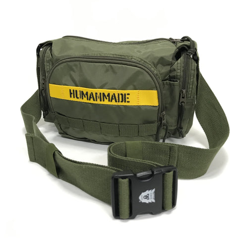 Human Made Military Waist / Shoulder Bag Olive