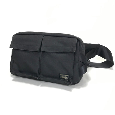 Porter Waist / Shoulder Bag Black