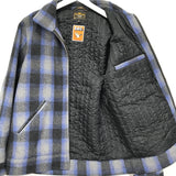 [M] WTaps 09AW Melton Wool Grease Jacket Blue