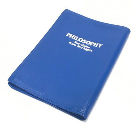 WTAPS x PORTER x ROCK STEADY Philosophy Limited Leather Book Cover