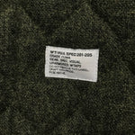 [L] WTAPS 07AW Hunted Gore Windstopper Wool Jacket Green