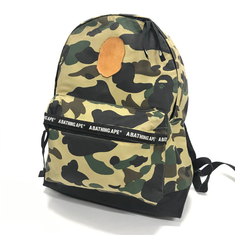A BATHING APE BAPE 1ST CAMO BACKPACK