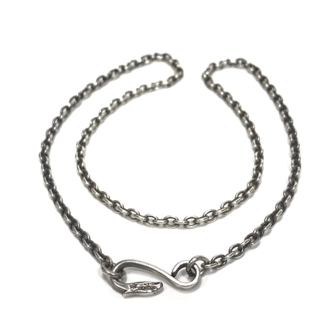 Goro's Silver Eagle Hook Chain Necklace ゴローズ 太角チェーン
