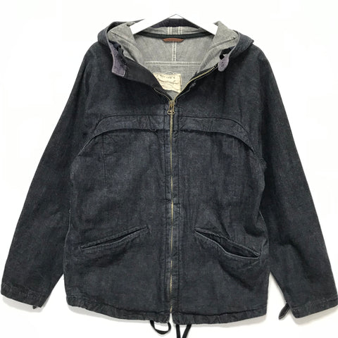 [M] Kapital Denim Zip Up Hooded Jacket