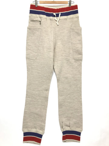 [XL] Kapital Side Pocket Sweatpants Cream
