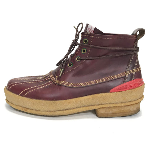 [9] Visvim Decoy Duck Mid Lace Up Boots Folk