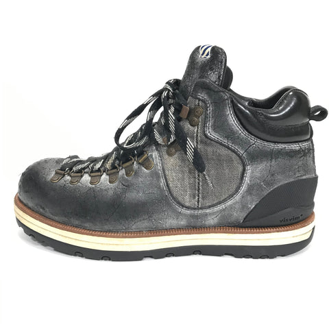 [11] Visvim 11AW Serra Boots Leather/Denim