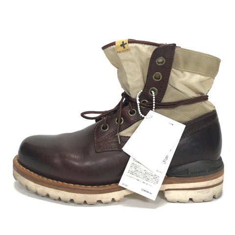 [8] Visvim 13SS 7 HOLE 73 BOOTS FOLK BROWN