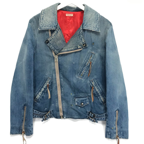 [L] Kapital Denim Riders Jacket