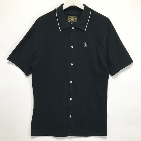 [XL] WTaps 10SS Paulie S/S Button Up Polo Shirt Black