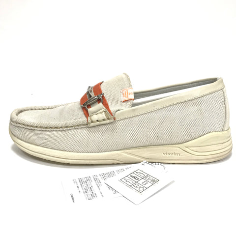 [9] Visvim 10SS Abarth Moc Folk Loafer Natural