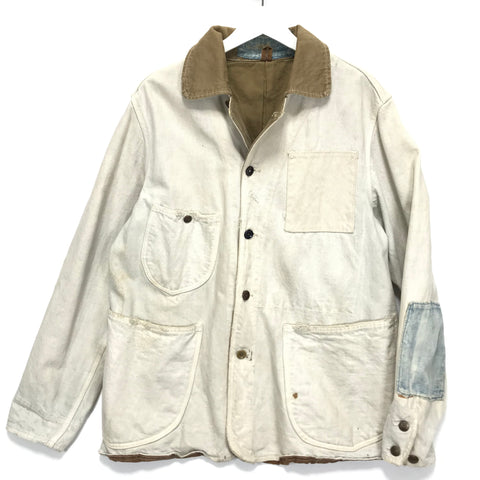 [L] Kapital Legs Boro Canvas Hunting Smock