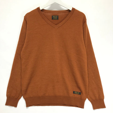 [L] Neighborhood 13AW Basic Knit Wool Sweater