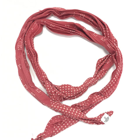 Visvim 14SS Bandana Belt Dots (Mini Herringbone) Red
