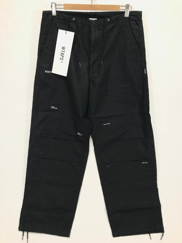 [M] DS! WTaps 18AW Cape BDU Pants Black