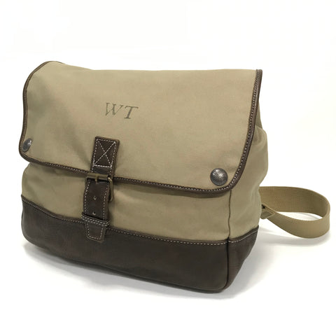WTaps 12SS Canvas Leather Shoulder Bag