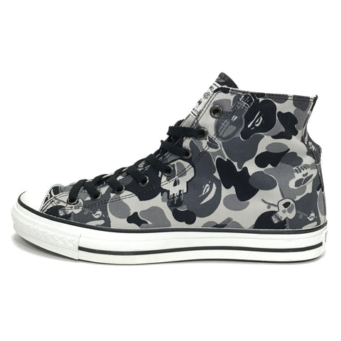 [11] DS! A Bathing Ape x Stussy Bape Sta 'Chuck Taylor' Hi Top Shoes