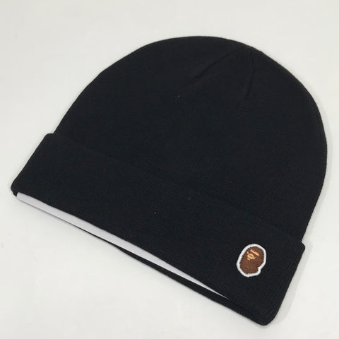 DS! A Bathing Ape Bape One Point Beanie