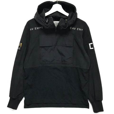 [S] Cav Empt C.E Fleece Pullover Black