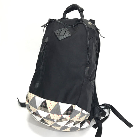 Visvim 08AW 20L Ballistic Shaker Patchwork Backpack Black