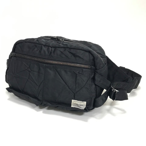 Porter Ride Waist / Shoulder Bag Black