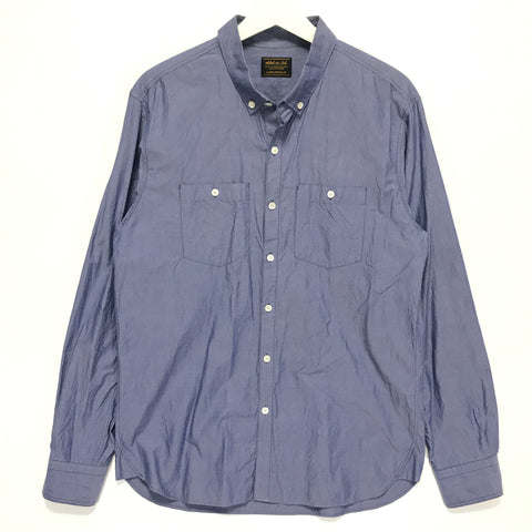 [L] Neighborhood 13AW Classic C-Shirt Blue