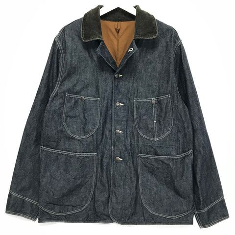 [L] Kapital Denim Work Smock Jacket Indigo
