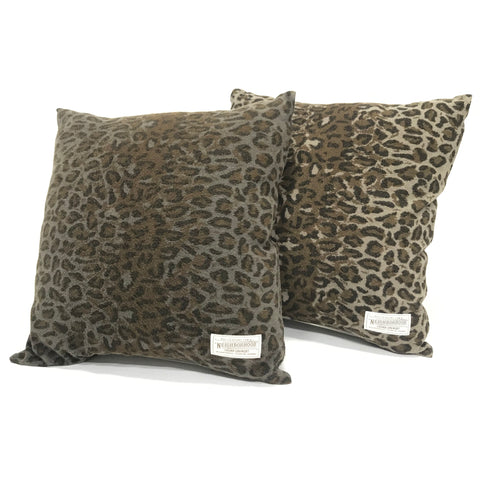 Neighborhood 13SS Panther Fleece Cushion Olive or Beige