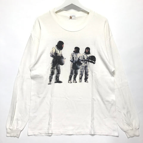 A Bathing Ape Bape Vintage '90s Very Ape UK Astronaut L/S Tee