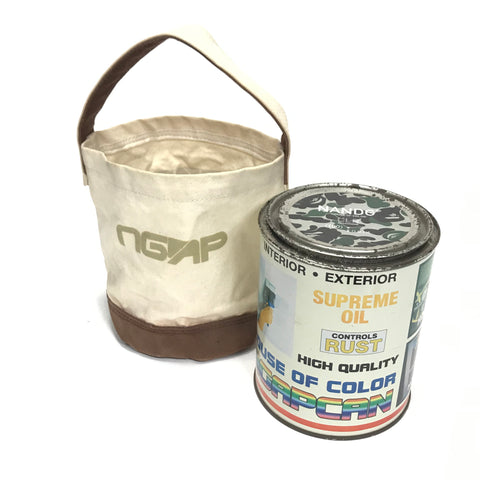 A Bathing Ape Bape x NGAP Vintage Paint Can / Carrier Bag