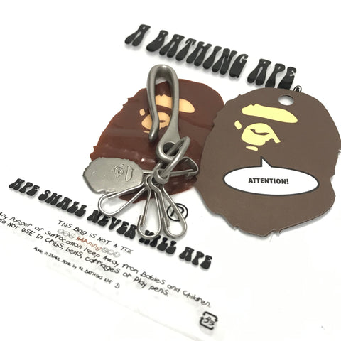 DS! A Bathing Ape Bape Metal Key Holder