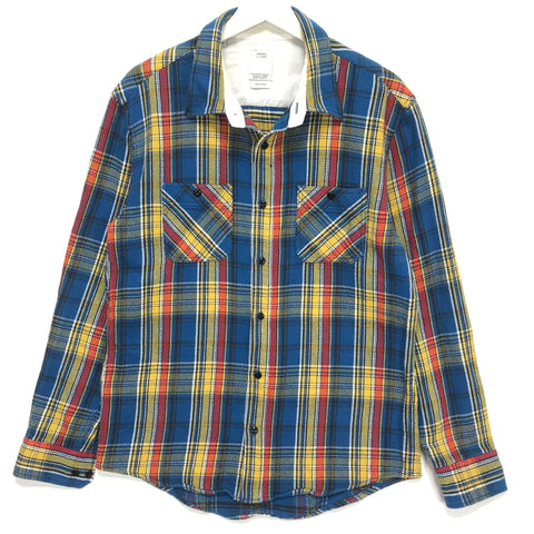 [M] VISVIM 10AW Black Elk Check L/S Flannel Shirt