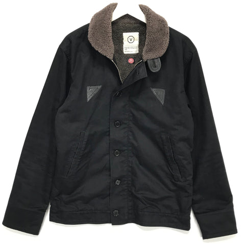 [XL] VISVIM Deckhand Jacket Black