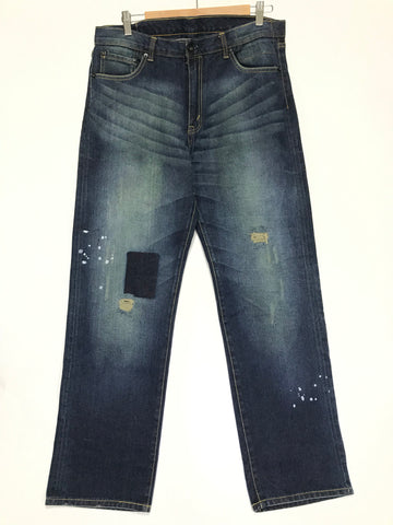 [34] Visvim Fluxus Nez Perce 84 Crash Selvedge Denim Jeans
