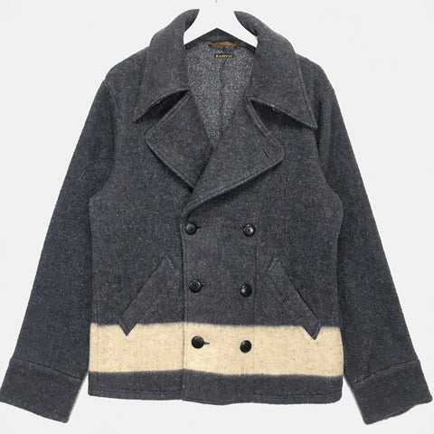 [XL] Kapital Fleece Pea Coat