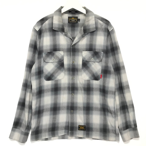 [L] WTAPS 12AW Vatos L/S Shirt Grey
