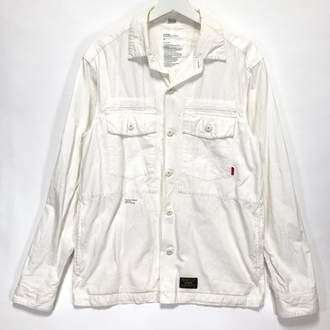 Copy of [L] WTAPS 12SS BUDS L/S Shirt White