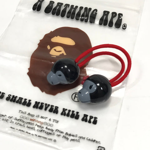 DS! A Bathing Ape Bape Baby Milo Hair Band Black/Red