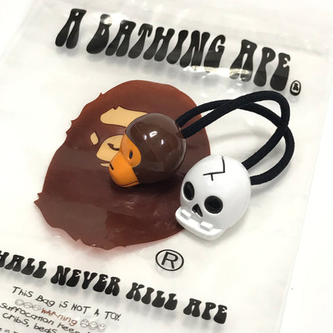 DS! A Bathing Ape Bape Baby Milo Skull Hair Band